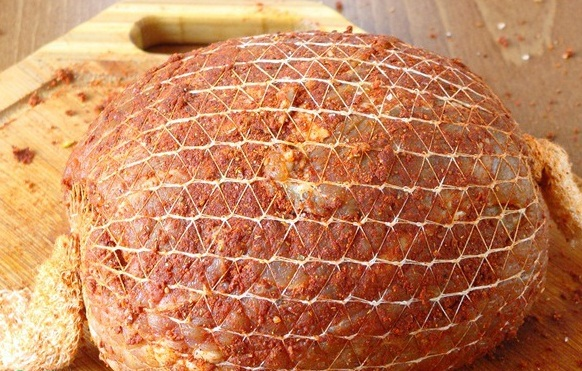 мясной орех в мультиварке, рецепты в мультиварке, мясо в мультиварке, ветчина в мультиварке рецепт