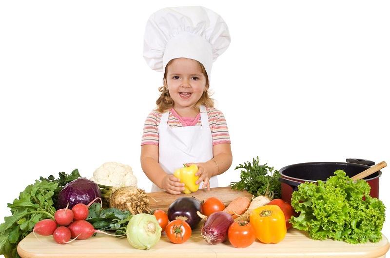 ребенок вегетарианец