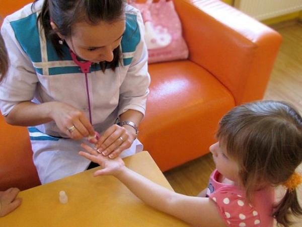 анализ крови детям, клинический анализ крови