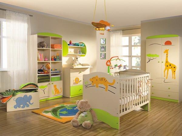 какой должна быть детская комната, идеальная детская комната
