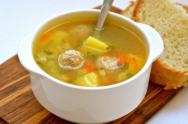 суп с фрикадельками в мультиварке, рецепты в мультиварке, как приготовить суп в мультиварке