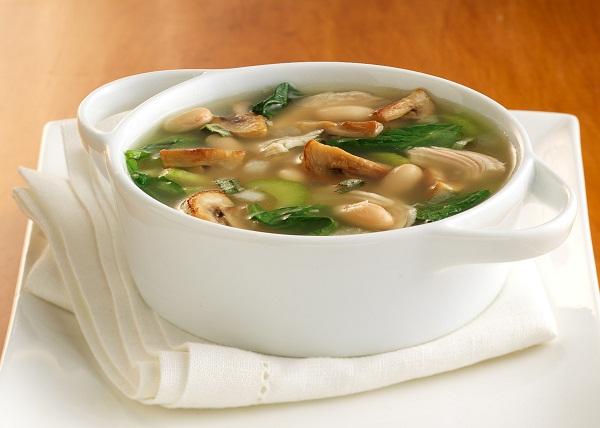 как приготовить суп в мультиварке, грибной суп в мультиварке, суп с грибами в мультиварке
