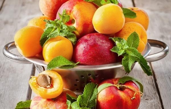 как выбирать персики, как выбирать абрикосы, как выбирать нектарины