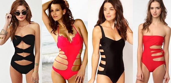 как выбрать слитный купальник, советы стилиста, модные купальники 2015