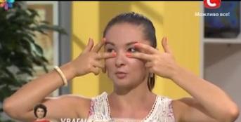 гимнастика для глаз, омолаживающие упражнения, евгения баглык упражнения