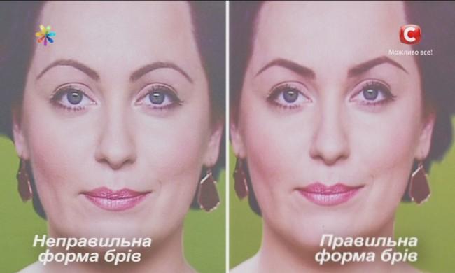 форма бровей по типу лица, как выбрать форму бровей