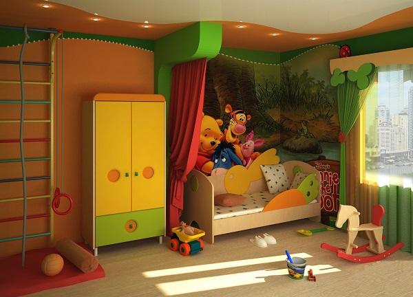 какой должна быть детская комната,