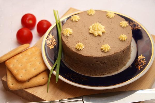блюда в мультиварке, рецепты в мультиварке, паштет в мультиварке, печеночный паштет в мультиварке рецепт