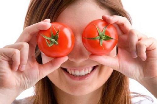 омолаживающая маска для лица, омолаживающие маски для лица, маска из томатов, маска из помидоров,