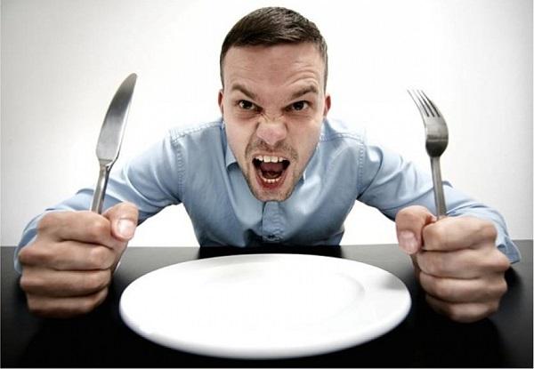 голод и злость, последствия голода