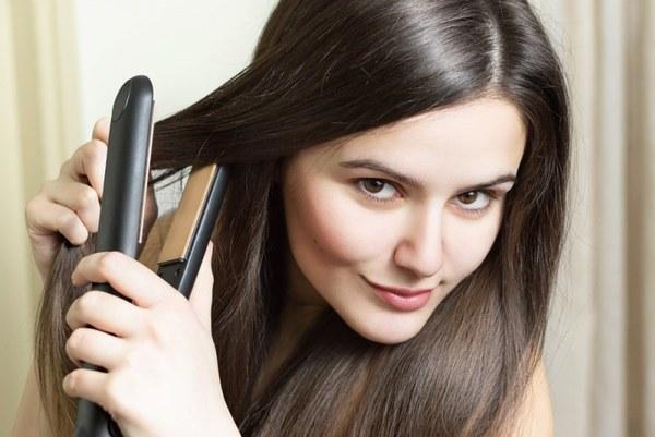 защита волос при завивке