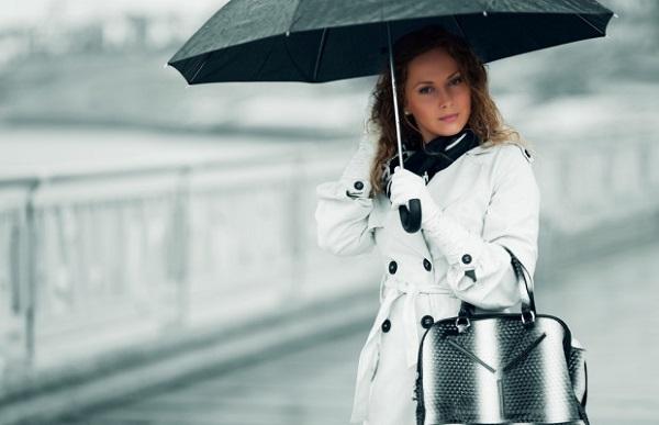 макияж в дождь