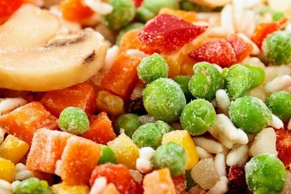 как выбрать замороженные овощи