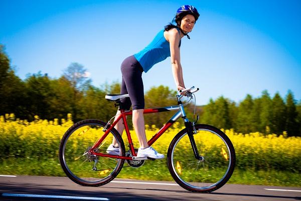 похудение езда на велосипеде